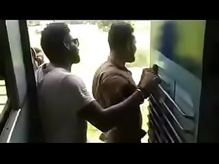 Tamil train gay fun