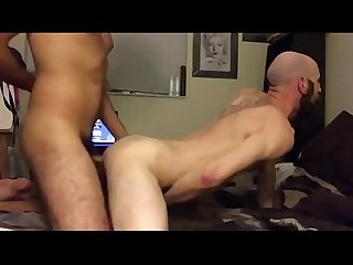 Hipster with hot nipples fucking his buddy