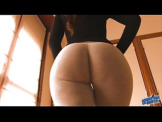 Incredible Big Booty Teen! Cameltoe Too! Oh Mama!!