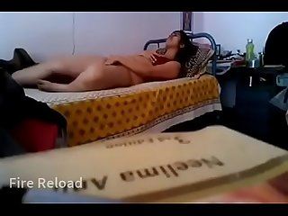 Desi Horny Bhabhi Fingering Her Pussy And Moaning