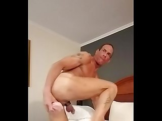 Slamming, tweaking, self-fisting and riding a dildo