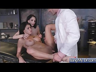 Hot Sexy Patient (Noelle Easton & Peta Jensen) Get Horny And Bang Hard Style With Doctor..
