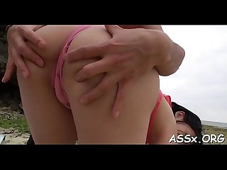 Lively anal drilling for two asian chicks