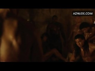 Naked actors in Spartacus