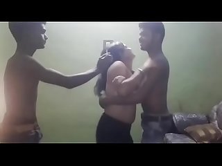 Indian Threesome College Girl Chudai