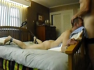 gay spanking and facefuck swallow