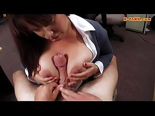 Busty brunette Milf gets pussy fucked to bail out her hubby