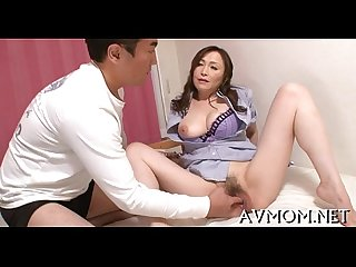 Horny mother i'd like to fuck gets trio