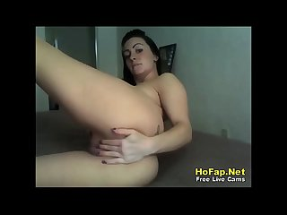 Fun Loving Latina Teen Spreading Legs And Puckering Asshole