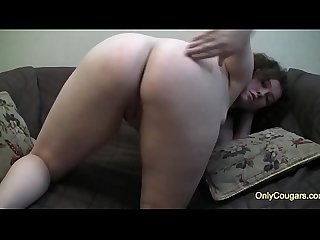 Chunky Teen Spreads Her Pussy Open