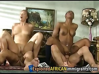 Stunning foursome of interracial couples going hardffair-1-1