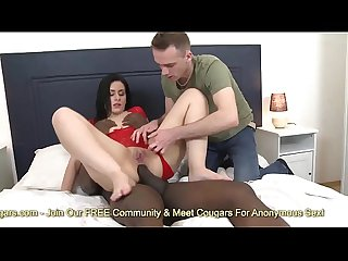 Husband Eats Cum From Another Mans Balls Out Of His Wifes Asshole - Cuckold