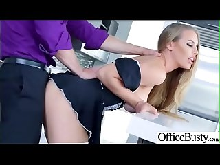 Hard Sex Tape In Office With Naughty Busty Hot Girl (Nicole Aniston) video-19