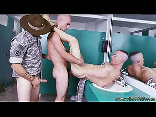 Naked male soldiers inspection time gay Good Anal Training