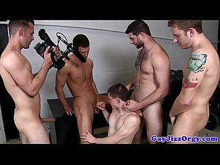 Brad Foxx and four pals have an orgy