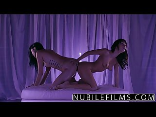 NubileFilms - Trembling orgasms for petite lesbians