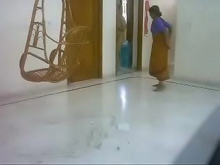 #NaziaPathan Indian arab housewife casually naked at home - part 2/4