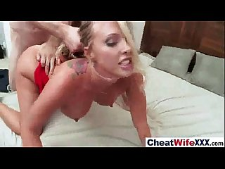 Sex Tape Story With Real Slut Cheating Housewife (samantha saint) vid-27