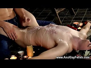 Young naked boy first ass fucked gay Wanked And Waxed To The Limit