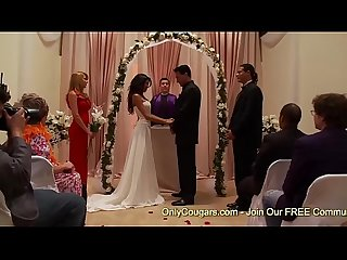 Naughty Bride To Be Kayla Carrera Gets Plowed By A Groomsman Right Before Her Wedding