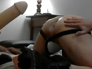 OPEN my ass with huge dildo