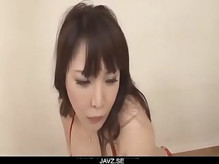 Busty Asian lady, Hinata Komine, craves for a wild fuck - From JAVz.se