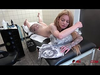 Teen Blonde Jayjay Ink Naked And Inked Up