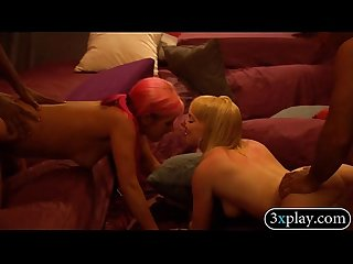 Swingers swap partners fucked sybian and enjoyed orgy