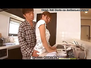 Japanese Housewife Fucking While Cooking [Full Movie:..