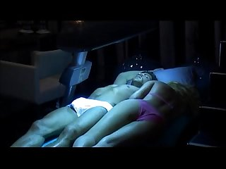 Reality Show- Dutch Big Brother guy bulging and showing cock