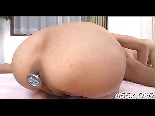 Asian cunt and anal fuck