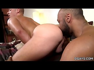 Interracial gay couple