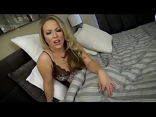 Mom Helps Son with His Wet Dreams - Teaches Son to Masturbate & Fucks Him - POV, MILF,..