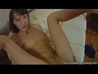 DOUBLEVIEWCASTING.COM - NADIA'S BUTT IS SLAMMED HARD (POV VIEW)