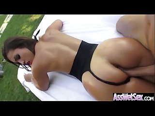 Oiled All Over Girl (kelsi monroe) With Big Ass Get Hard Deep Anal Sex movie-19