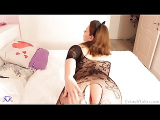 MILF show her Big Booty - Cristall Gloss