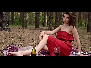 Dacota - In the wood. Visit Eroticdesire.com to see full video.