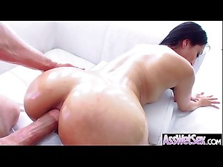 Huge Butt Girl (vicki chase) Get Her Oiled Ass Deep Nailed mov-30