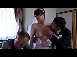 Asian Milf wife get stripped clothes by boss in front of her husband - ReMilf.com