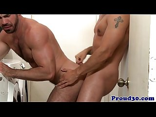 Beefy dilf assfucking before sucking out cum