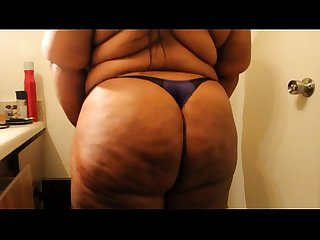 sexy thick bbw home alone naughty