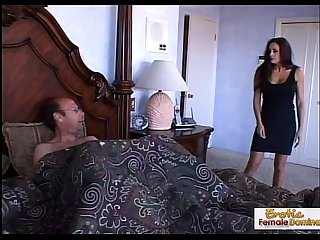 Mad cougar cant say no to a big hard cock