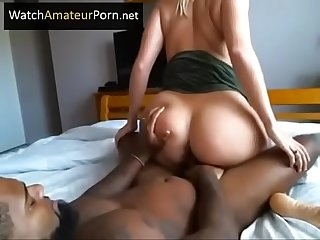 Sexy Milf With Big Tits Riding BBC - WatchAmateurPorn.net for more