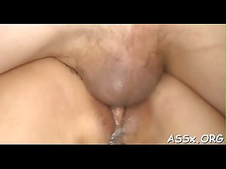 Outstanding japanese anal toying