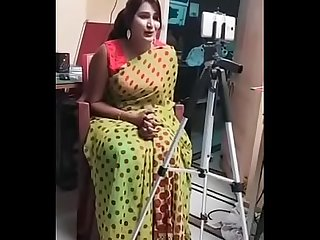 Swathi naidu shooting behind the scenes