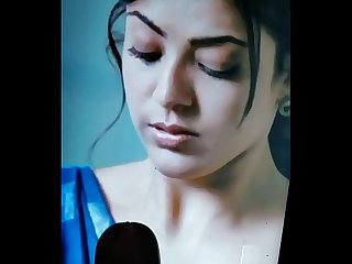 Longest ever CUM TRIBUTE on KAJAL with moaning #1