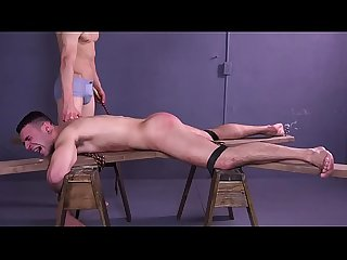 Slave Ian Greene Whipped & Fucked By Big Dick Muscle Master - BDSM Gay Bondage -..