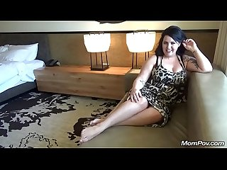 Super Thick Sexy Body MILF Gets Titty Fucked until he Cums