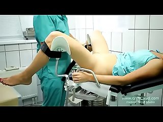beautiful girl on a gynecological chair (33-2)