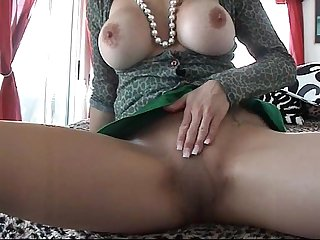 Trinity blouse wanking and blowjob